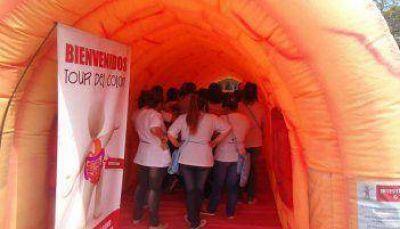 Un colon inflable en ALCEC Basavilbaso