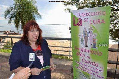 Tuberculosis: detectan por año unos 280 casos