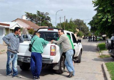 Dramático testimonio del vecino que auxilió a Koiv y lo trasladó, en su propio taxi, hasta el Interzonal