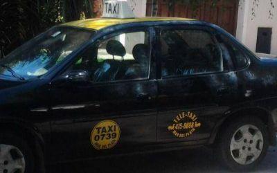 El taxista fue golpeado en el ojo y la nariz antes de recibir los dos disparos