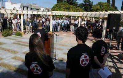 Con una mirada crítica, la Juventud Radical encabezó el acto del Día de la Memoria por la Verdad y la Justicia