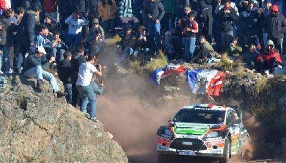 El rally atrajo a los amantes de los motores a Carlos Paz