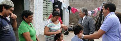 Bosetti ratificó la continuidad en el 2014 del plan de mejoramientos habitacionales en toda la provincia