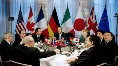 Potencias cancelan la reunión del G8 por la crisis en Crimea