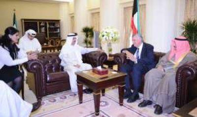 Llega una delegación de Kuwait por el acueducto
