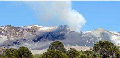 Volc�n Copahue: Neuqu�n mantiene el alerta amarillo, Chile el naranja