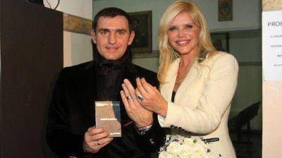 """""""Me voy a mandar una macana"""", el último mensaje del marido de Nazarena Vélez"""