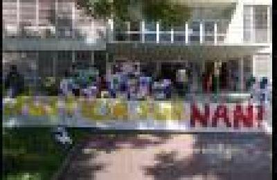 Familiares de Ulises Aguilar se manifestaron frente a Tribunales