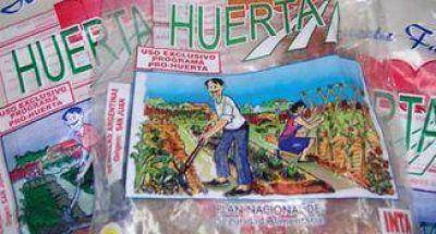 ProHuerta en Caseros: Entrega de semillas