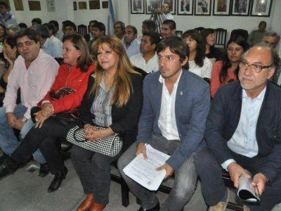 Miembros del PJ ratificaron su apoyo al Gobierno Provincial
