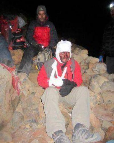 Rescate récord en el volcán Tromen