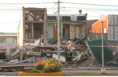 Preocupación de los vecinos afectados por el derrumbe