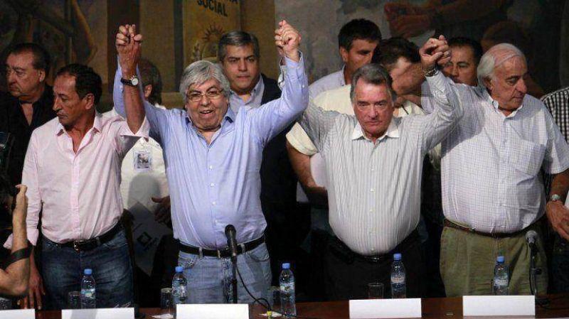 El paro nacional de Moyano, Barrionuevo y Micheli será el próximo jueves 10 de abril