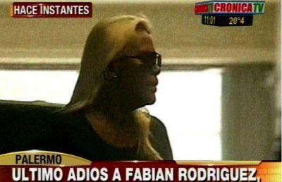 El último e íntimo adiós a Fabián Rodríguez