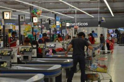 Nuevo operativo de control en supermercado