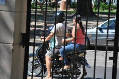 Por infracciones retiraron 60 motos de la vía pública