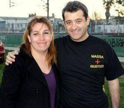 Garrido y la Jauretche apoyan a Massa y Giustozzi.