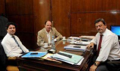 San Pedro: Intendente Guacone se reunió con funcionarios de Scioli