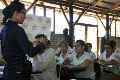 Primera experiencia de la Policía Vial de Guaymallén