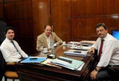 Guacone expuso la situación política del municipio al Susecretario de Gobierno provincial