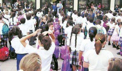 Educación autorizó aumentos del 22% en privados