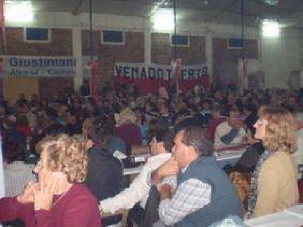 Más de 900 radicales se reunieron en el sur santafesino