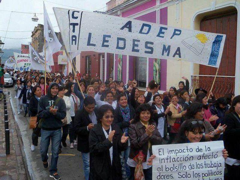"""Jujuy: Intersindical se reúne otra vez con el Gobierno y espera una """"oferta superadora"""""""