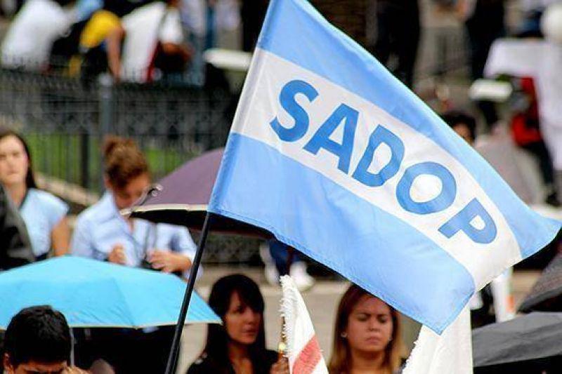 SADOP anunci� un paro docente por 72 horas desde el viernes 4 de abril