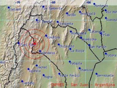 Un temblor de 5.4 grados sacudió a La Rioja y se sintió en Mendoza