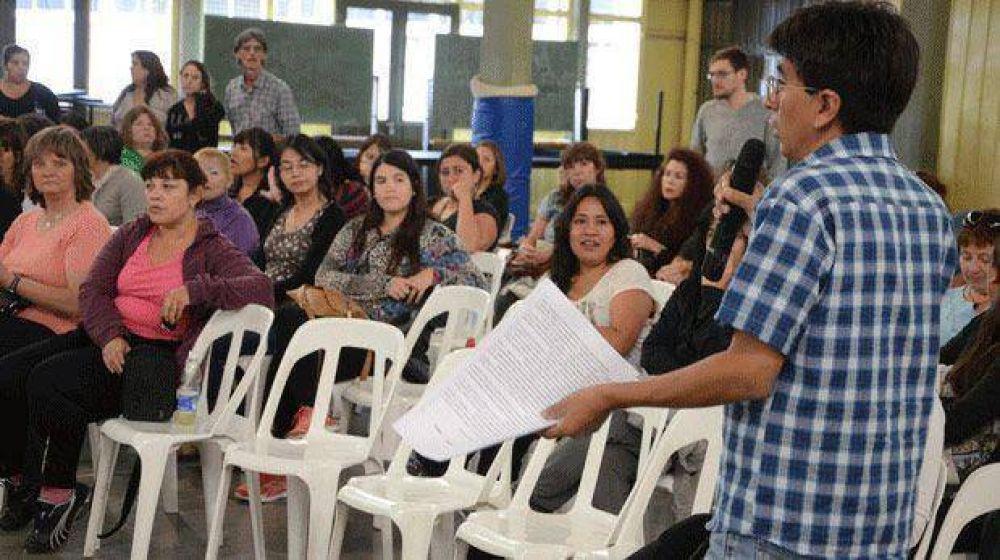 Con aval de las regionales de ATECh hoy se reabre la paritaria de Educación