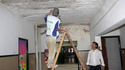 Más mantenimiento en escuelas provinciales de San Isidro