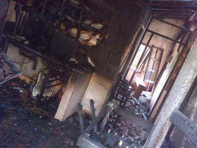 Montecarlo: Incendio consumió una vivienda en el barrio 9 de julio