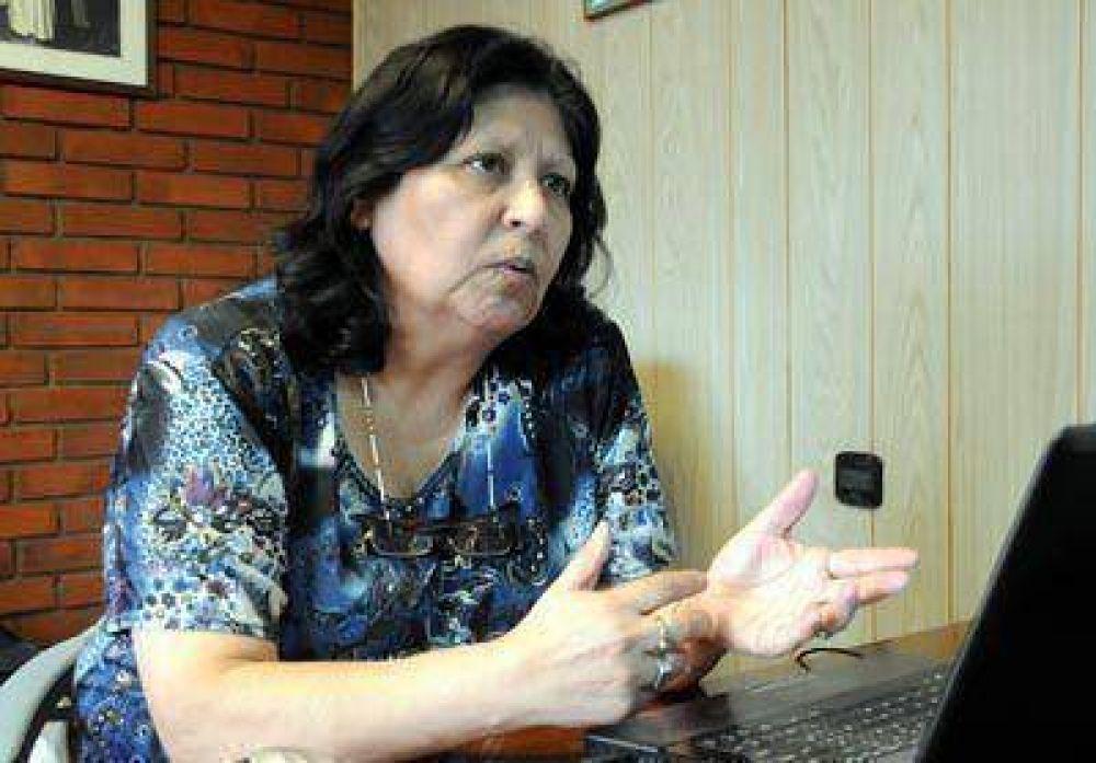 La camionera Eva Moyano va por el sillón de Pedro Fernández en la CGT