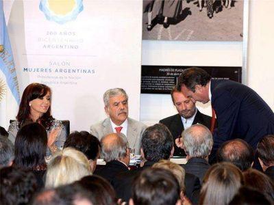 La Presidenta firmó un convenio para crear en Mendoza tres centros para combatir adicciones