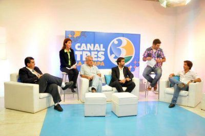 Canal 3 lanzó su programación 2014
