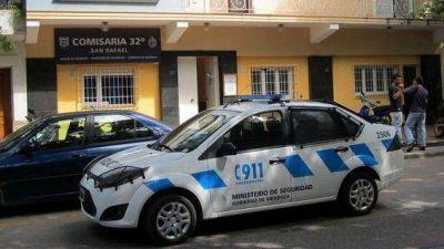 Llamativo asalto a un repartidor en San Rafael
