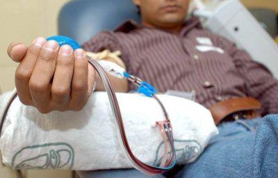Campaña para donar sangre