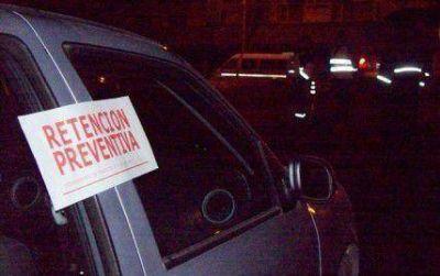 Secuestran vehículo que realizaba delivery de bebidas alcohólicas