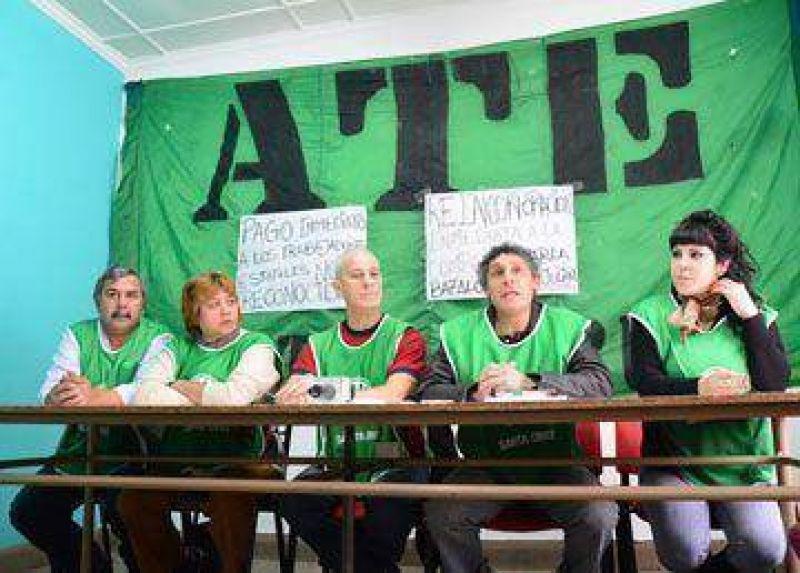 ATE ratific� el rechazo a la oferta salarial para estatales