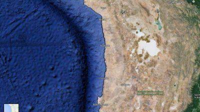 Hay alerta de tsunami en Chile tras un terremoto en el norte del país
