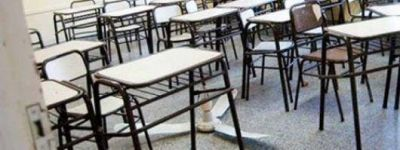 Escuelas precarias y deterioradas en menos de un mes de actividad