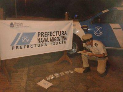 Apresan a paraguayo con dos kilos de cocaína