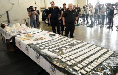 Desarticulan un laboratorio clandestino de cocaína y secuestran droga