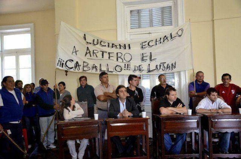 """Peñalba: """"Artero es el Cavallo de Luján, que renuncie"""""""