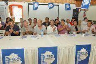El espacio de Jesús Cariglino se fortalece en la tercera y octava sección electoral