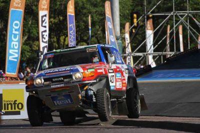 El Rally Dakar 2015 pasará por Rosario