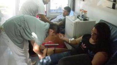 Más de 20 personas donaron sangre para el Registro de Células Madres