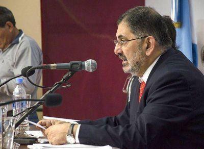 Jorge ratificó la necesidad de sancionar una ley de coparticipación municipal