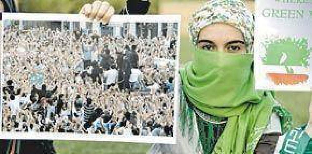 Irán prohíbe a medios extranjeros mostrar las marchas opositoras