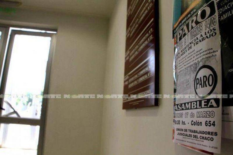 Judiciales terminan la semana con paro por 48 horas